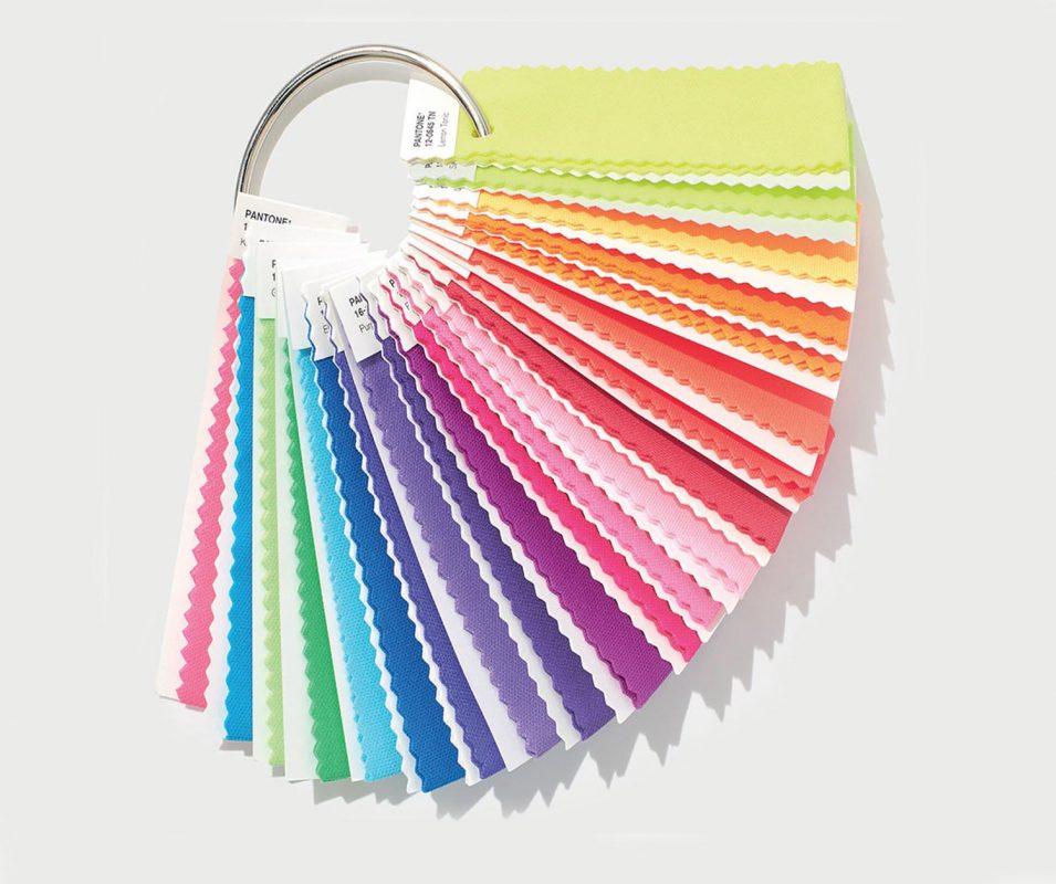 Pantone KumaşTekstil Renkleri TN-TCX-Polyester