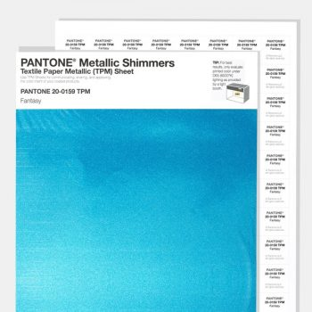 Pantone Metalik Tekstil TPM-TCX