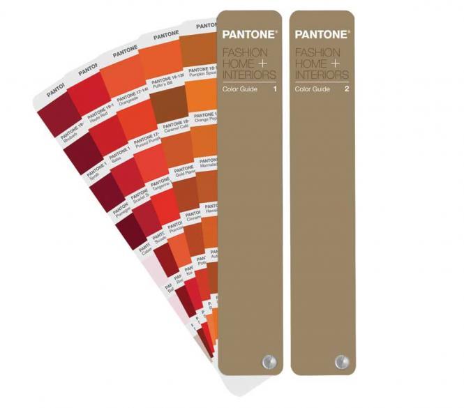 Pantone Kataloğu Tekstil ve İç-Dış Mekân Yelpaze