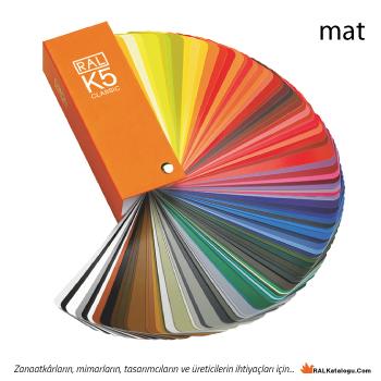 Ral Renkleri kataloğu